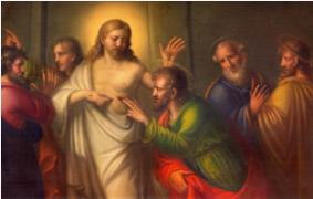 Gesù Risorto e Tommaso