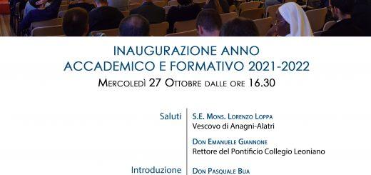 Inaugurazione anno accademico formativo 2021-2022